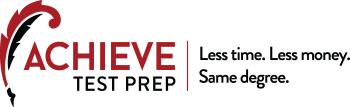 About Us Achieve Test Prep logo